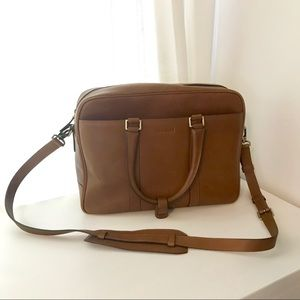 Johansen Jototes Leather Laptop Camera Bag
